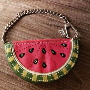 Watermelon coach limited edition coin purse.